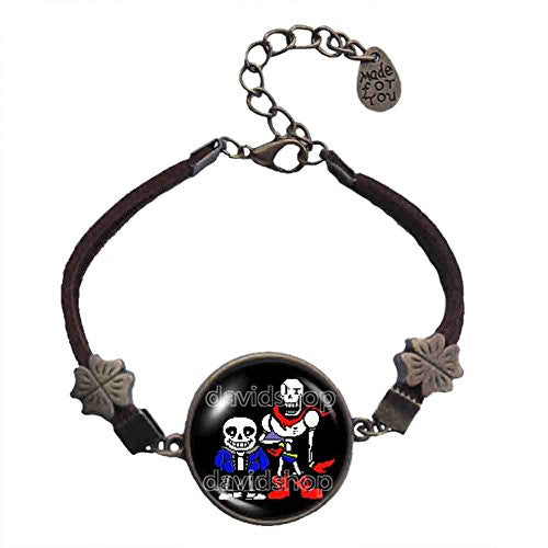 Undertale Sans Papyrus Bracelet Skeleton Jewelry Cosplay Colour