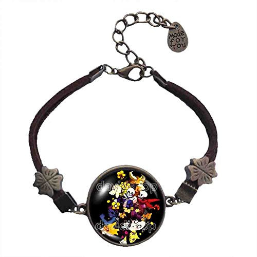 Undertale Pendant Bracelet Fashion Jewelry Cosplay Doggo Gaster Cute Gift