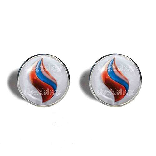 Pokemon Salamencite Mega Stone Cufflinks Cuff links Fashion Jewelry Salamence Cosplay Charm
