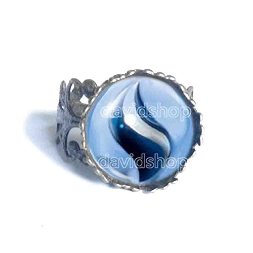 Pokemon Absolite Mega Stone Ring Jewelry Absol Cosplay