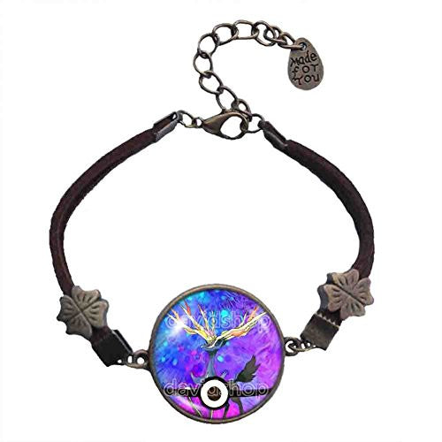 Pokemon X Xerneas Legendary Bracelet Pokeball Pendant Anime EX Jewelry Cosplay Cute Gift - DDavid'SHOP