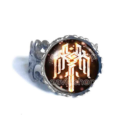 Kirkwall Dragon Age Ring Symbol Sign Fashion Jewelry Cosplay Cute Gift
