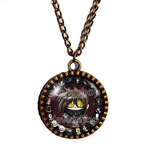 Creepypasta TICCI TOBY Necklace Pendant Cosplay Small Cute Gift