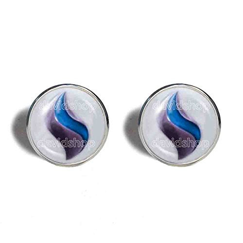 Pokemon Mewtwonite X Mega Stone Cufflinks Cuff links Fashion Jewelry Mewtwo Cosplay Charm
