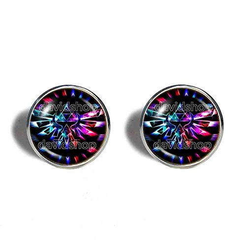 The Legend Of Zelda Triforce Cufflinks Cuff links Constellation Multicolor