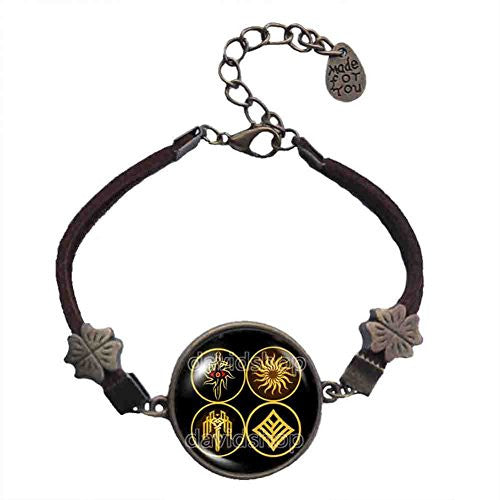 Kirkwall Dragon Age Bracelet Symbol Sign Eye Jewelry Cosplay Cute Gift