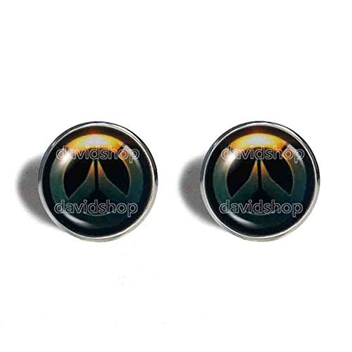 Overwatch Cufflinks Cuff links Fashion Jewelry Symbol Cosplay Charm Cute Gift