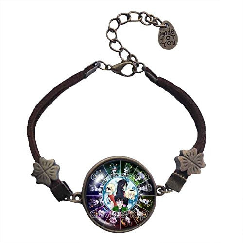 Homestuck Bracelet Art Glass Pendant cosplay Fashion Jewelry Chain Zodiac
