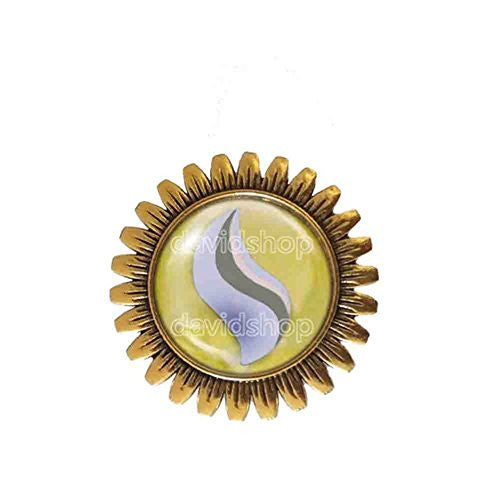 Pokemon Kangaskhanite Mega Stone Brooch Badge Pin Anime Fashion Jewelry Kangaskhan Cosplay