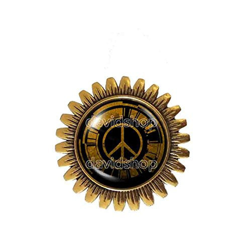 Metal Gear Solid Peace Walker Brooch Badge Pin Fashion Jewelry Cosplay Charm