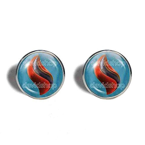 Pokemon Scizorite Mega Stone Cufflinks Cuff links Fashion Jewelry Scizor Cosplay Charm
