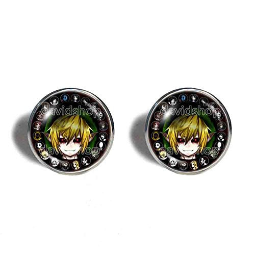Creepypasta CREEPY PASTA Ben Cufflinks Cuff links Fashion Jewelry Cosplay