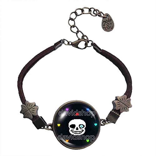 Undertale Sans Bracelet Bad Time Game Pendant Fashion Jewelry Cosplay
