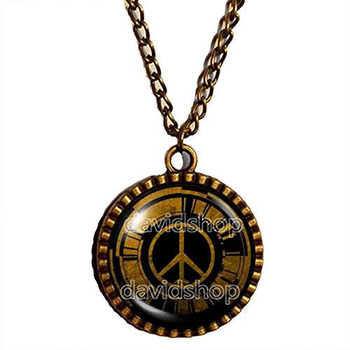 Metal Gear Solid Peace Walker Necklace Pendant Fashion Jewelry Cosplay Charm Gift