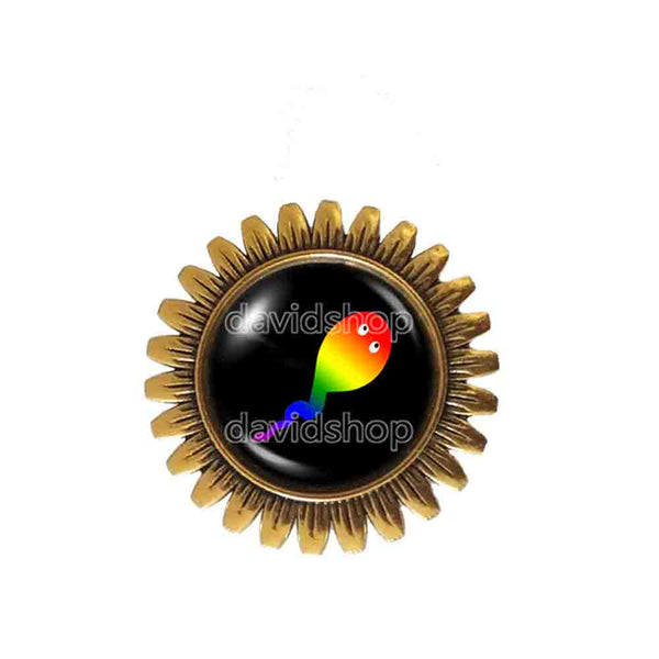 Cute Gay Pride Brooch Badge Pin Fashion Jewelry Flag Rainbow LGBTQ Symbol Art Gift For Friend Colorful Hip Hop Charm