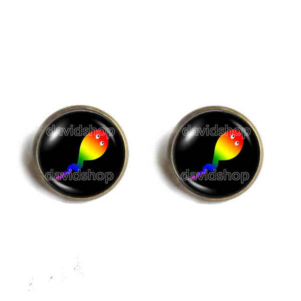 Cute Cay Pride Ear Cuff Earring Fashion Jewelry Cosplay Rainbow LGBTQ Hip Hop
