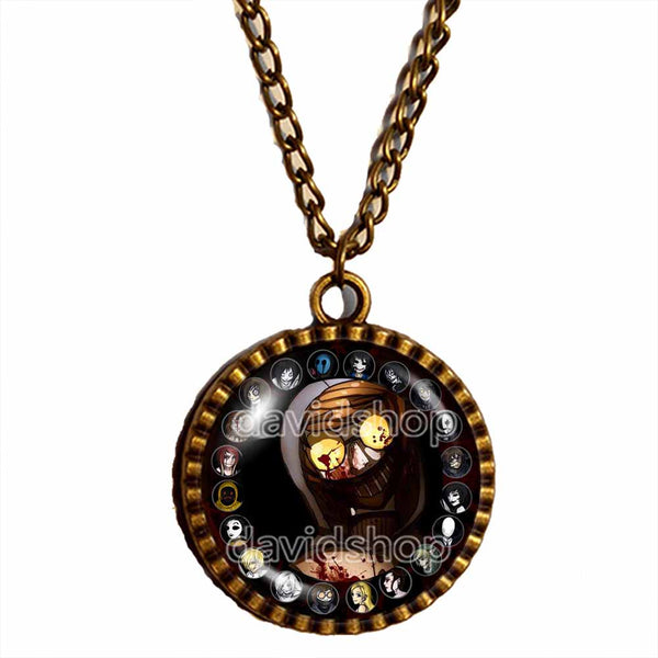 Creepypasta Ticci Toby Necklace Photo Pendant Fashion Jewelry CREEPY PASTA Cosplay