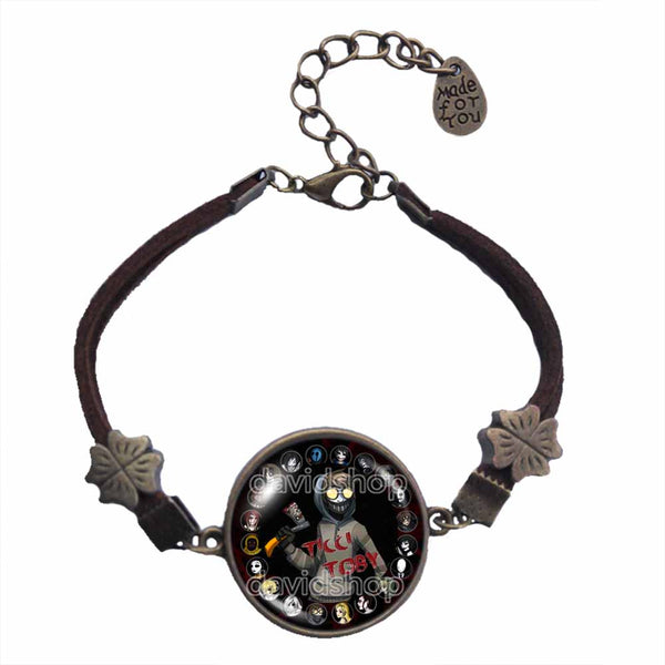 Creepypasta Ticci Toby Bracelet Fashion Jewelry CREEPY PASTA Cosplay Cute Gift