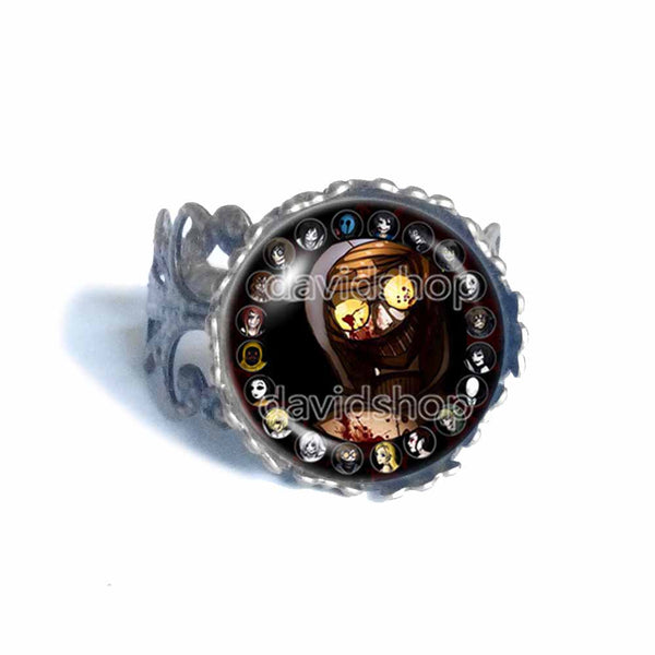 Creepypasta Ticci Toby Ring Fashion Jewelry CREEPY PASTA Cosplay