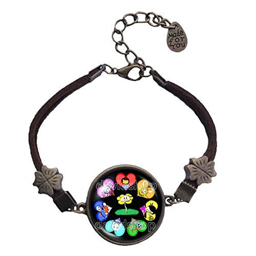Undertale Bracelet Art Pendant Fashion Jewelry Gift Game Cosplay Sans Papyrus