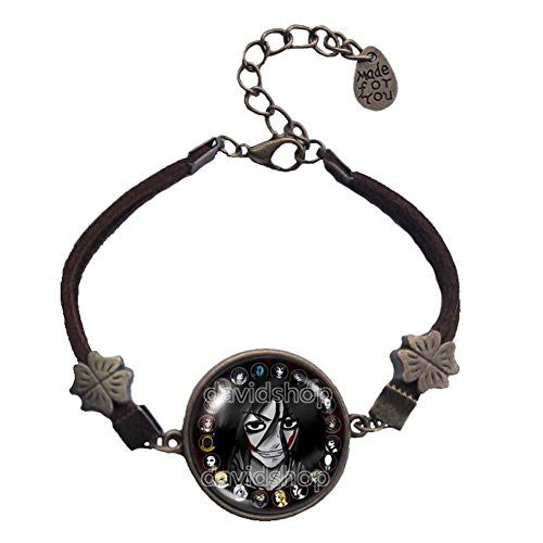 Creepypasta CREEPY PASTA TICCI TOBY Bracelet chain JEFF THE KILLER Fictional Symbol