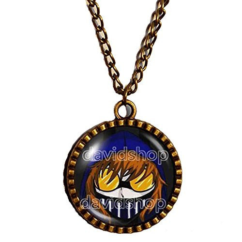 Creepypasta CREEPY PASTA TICCI TOBY Necklace Chain Herobrine JEFF THE KILLER