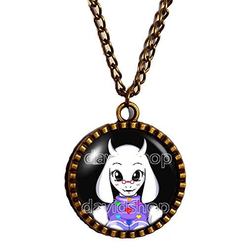 Undertale Necklace Pendant Jewelry Game Undyne Toriel Asriel Asgore Dreemurr