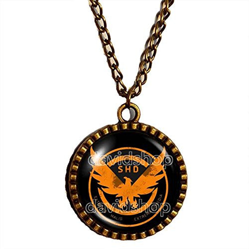 Tom Clancy's The Division Necklace Art Pendant Fashion Jewelry Gift Cosplay New Chain