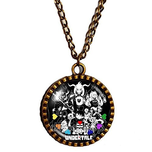 Undertale Necklace Pendant Fashion Jewelry Game Sans Cosplay Undyne New Design