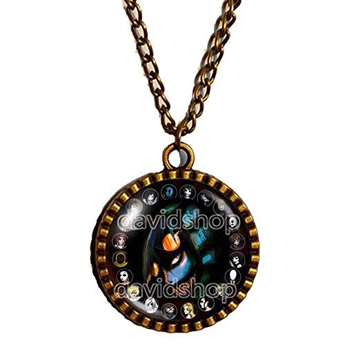 Creepypasta CREEPY PASTA TICCI TOBY Necklace Pendant chain JEFF THE KILLER Gift