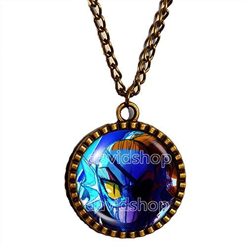 Undertale Necklace Art Pendant Game Cosplay Undyne Mettaton Hot Fashion Jewelry