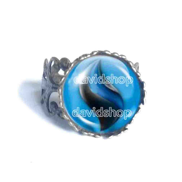 Pokemon Charizardite X Mega Stone Ring Jewelry Charizard Cosplay