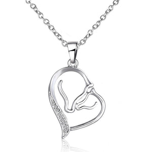 Jewad™ 2017 Horse Head Heart Necklaces