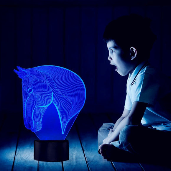 Horsy™ 3D Horse LED Lamp H4