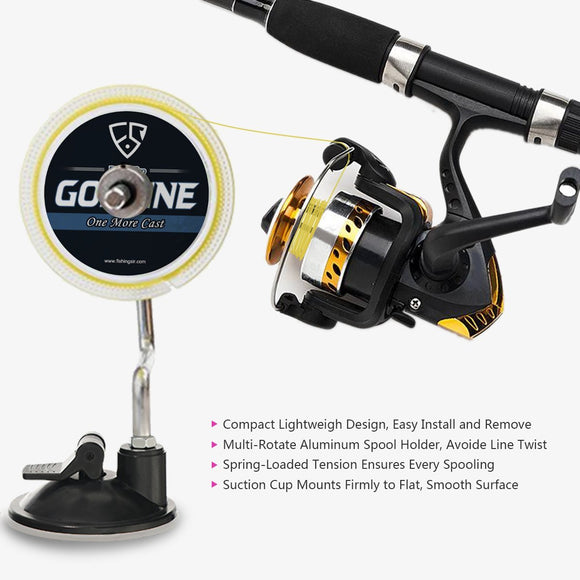 Fishy™ Premium Fishing Line Reel Spooler