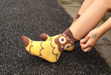 NEW Cartoon Owl Socks