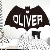 Sticy™ Premium Batman Customer Name Wall Sticker