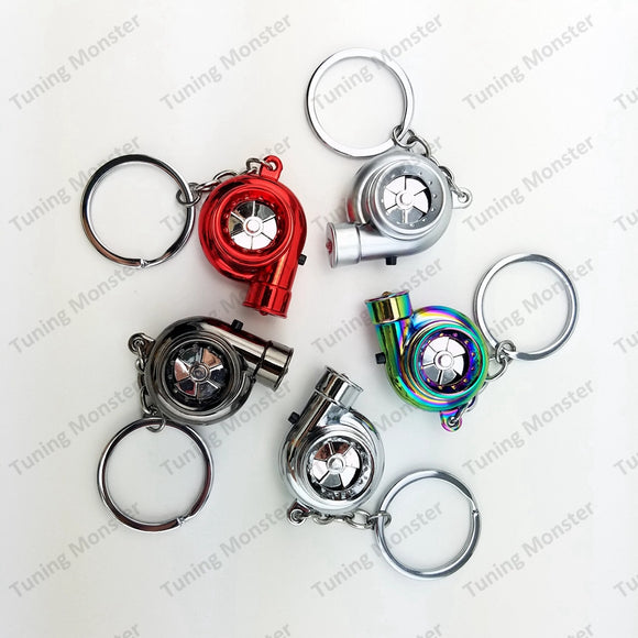 PREMIUM™ TURBO LED KEYCHAIN WITH LIGHTER RECHARGEABLE