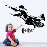 Sticy™ Premium Harry Potter Custom Name Wall Sticker