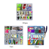 Fishy™ All-In-One Fishing Lures Kit [132PCS-101PCS-73PCS]