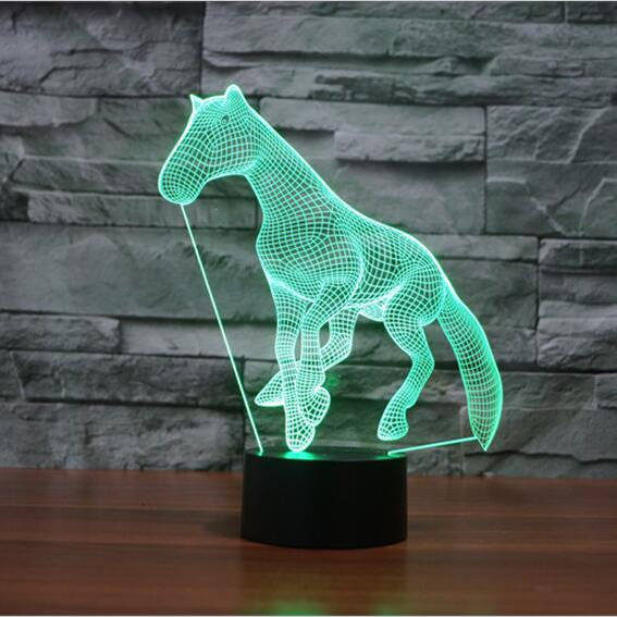 Horsy™ 3D Horse LED Lamp H3