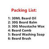 Unparalleled Nuw Set Natural & Organic Beard Oil with Beard Comb