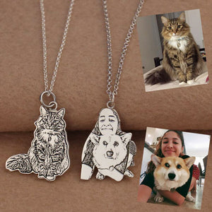 Jewest™ Premium Personalized Engraved Photo Necklace