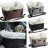 2017 Petties™ Soft Plush Pet Booster Seat Car