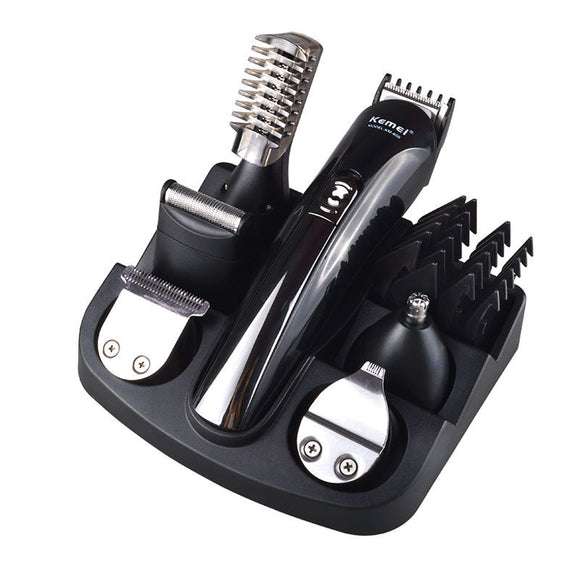 Kemei600 6 in 1 Titanium Hair and Beard Clipper