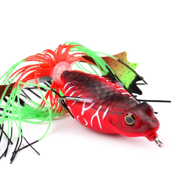 Fishy™ Premium Top Water Frogs [With Double Hooks]