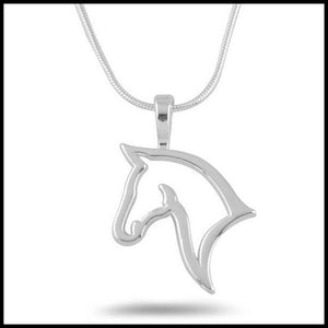 Jewad™ 2017 Personality Hollow Horse Necklace