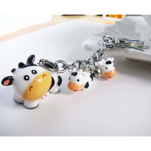 Cute Cow Toy Key Chain