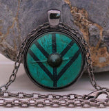 Lagertha Shieldmaiden Pendant Necklace