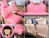 Unparalleled Car Full-Option Faux Fur - 6PCS